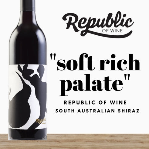 South Australian Shiraz by Republic of Wine. Great value wines exclusive to Pop Up Wine Singapore. Buy online and save money. Same day delivery daily.