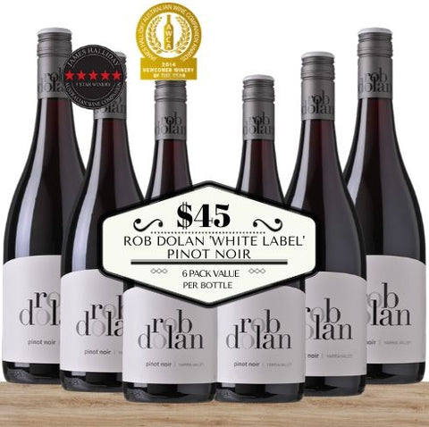 Rob Dolan White Label Pinot Noir 2016 - 6 Pack Value