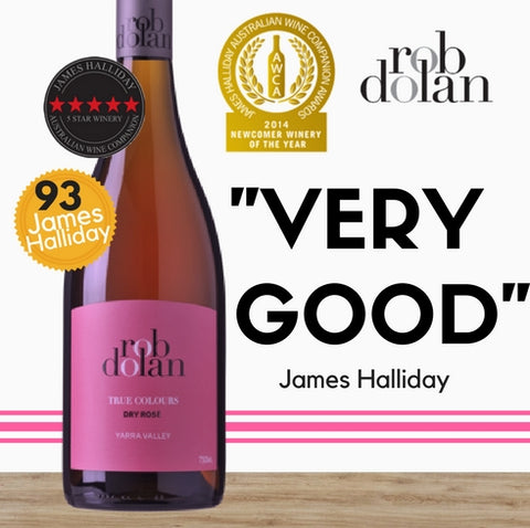 "Rob Dolan ""True Colours"" Rose. Impressive wine from Australia. Discount available online from Pop Up Wine Singapore. Fast delivery."