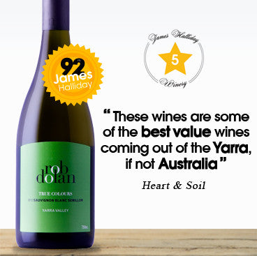 One of the best value wines from the Yarra Rob Dolan True Colours Semillon Sauvignon Blanc 2013 $32
