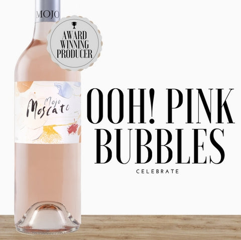 Mojo Moscato 2018 Sparkling wine from Australia. Order online to get discount from Pop Up Wine in Singapore.  Fast delivery today.