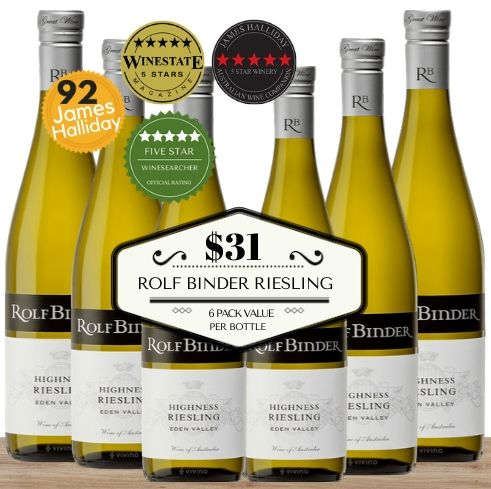 Six pack box of popular Riesling. Get this Australian white wine delivered today in Singapore. A great value box of wine delivered same-day, seven days a week. Pop Up Wine offers the only contactless wine delivery in Singapore assuing your health and safety. Buy now online and get it delivered today. A great value way to buy wine bulk at low prices. ""