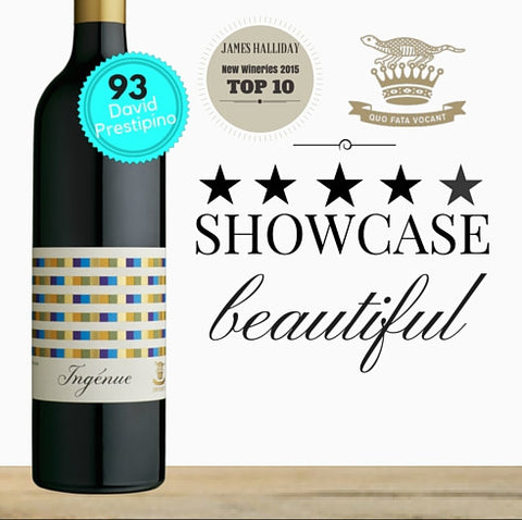 Showcase Swinney Vineyards red wine. Voted Top 10 New Australian Vineyard