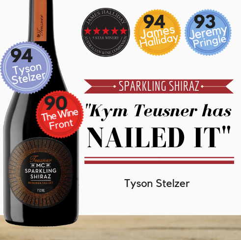 Highly rated Australian Sparkling Shiraz same day delivery in Singapore from PopUp Wine.  Order online now.