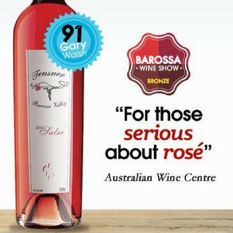 Teusner Salsa Rosé 2016. Barossa Rosé available in Singapore from Pop Up Wine.  Same day delivery, free with all orders over 24 bottles.