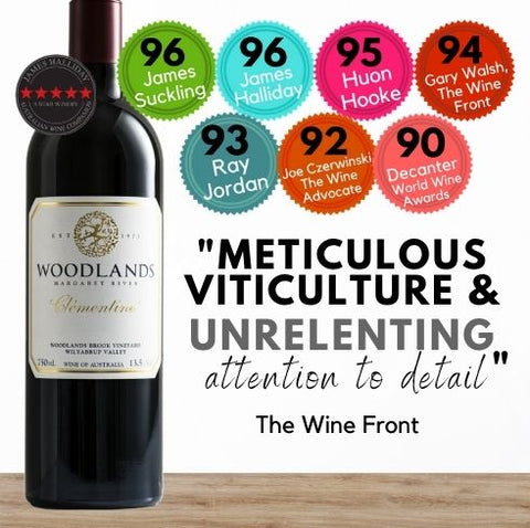 From the world renowned Margaret River wine region, the Woodlands Clementine Cabernet Petit Verdot Malbec is available now from Singapore's favourite wine store, Pop Up Wine. Same day delivery Singapore wide.