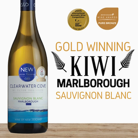 2016 Sauvignon Blanc by Clearwater Cove. New Zealand white wine. Order now, save money online from Pop Up Wine Singapore. Delivery in 24 hr.