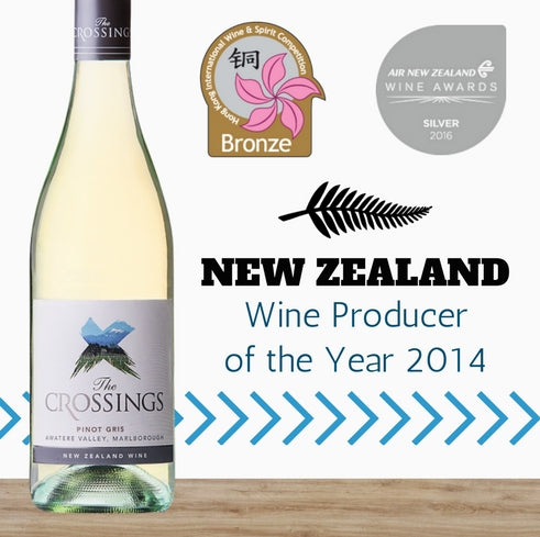 "Yealands ""The Crossings"" Pinot Gris 2016 ~ Marlborough, New Zealand"
