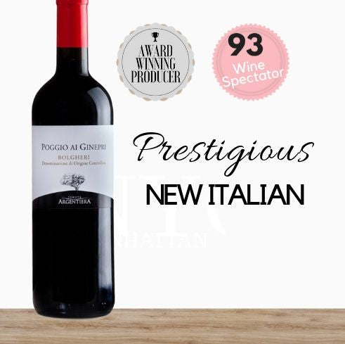 Italian Cabernet Sauvignon Merlot Shiraz from Tenuta Argentiera, Italy online in Singapore and get it delivered today. Available from online wine store Pop Up Wine.