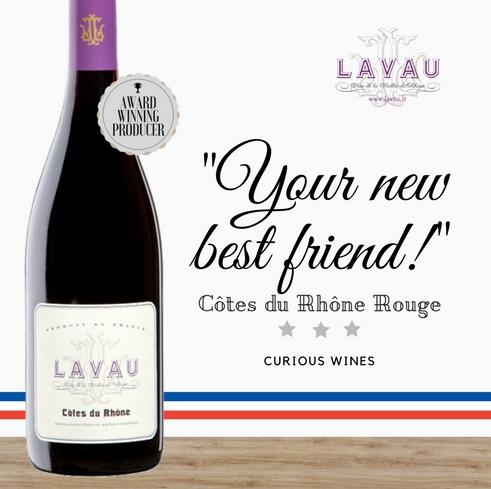 French Syrah by Lavau from the Rhône Valley. Exclusive to Pop Up Wine Singapore. Buy online to get discount. Delivered same day. Award winning wine