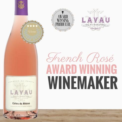 2019 French Rose from an award winning winery Lavau. Available from Pop Up Wine Singapore. Same day delivery. Best value Premium wine online.