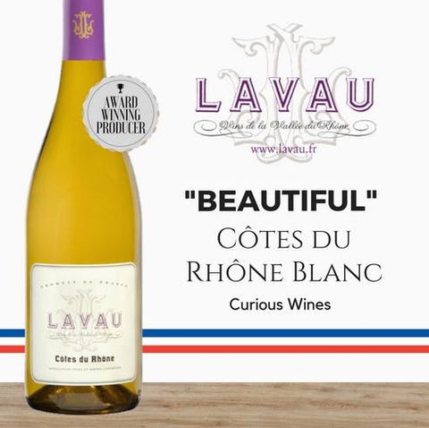 2019 French Viognier. Lavau Cotes full and fruity white wine. Order affordable best selling wines online from Pop Up Wine in Singapore. Delivered same day.