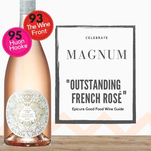 Magnum French Rosé available online today from Singapore's favourite online wine store, Pop Up Wine.