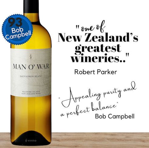 Want a top sauvignon blanc? The world's greatest wine critic says Man O' War winery is one of New Zealand's best. Buy their outstanding sauvignon blanc from online Singapore wine shop, Pop Up Wine. We are Singapore's leading online wine retailer of premium wines. Free wine delivery available. Get same-day wine delivery today. We deliver wine everyday including Sundays, Saturdays and public holidays.
