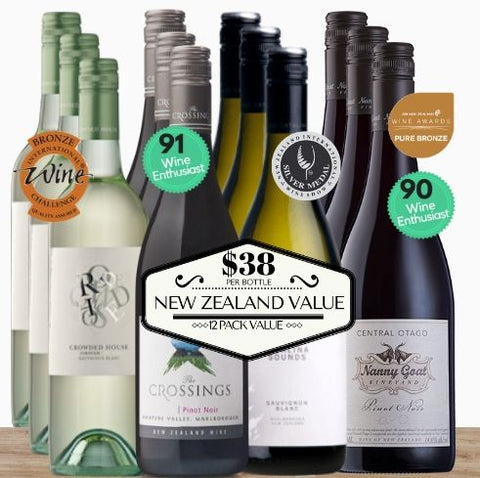New Zealand Mixed Value 12 Pack