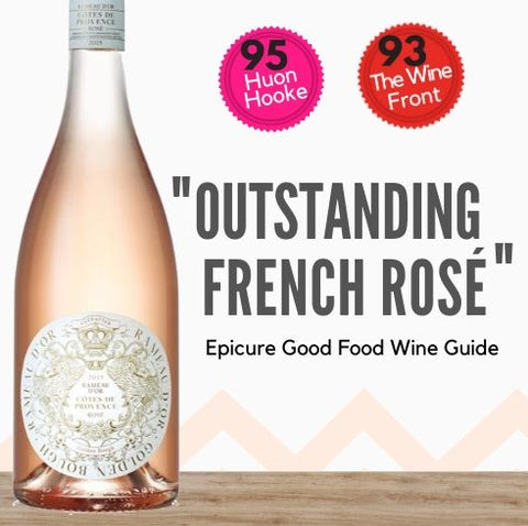 Buy this top rated, well priced, very French Rosé from Provence in France. Buy online today from Singapore's fastest wine delivery, Pop Up Wine. Free delivery available. Same-day wine delivery available everyday of the year. Yes, we deliver wine on public holidays, Sundays and Saturdays.