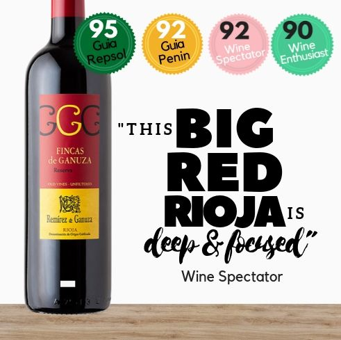 An intensely flavored red Tempranillo wine. Available online from Pop Up Wine. Same day delivery available. Free delivery for 2 dozen bottles.