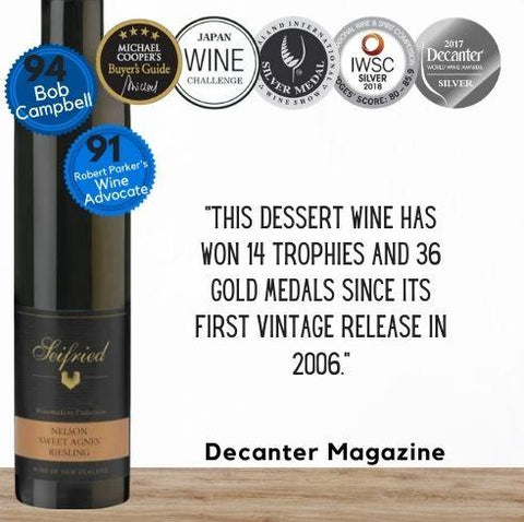Seifried Winemakers Collection Riesling Sweet Agnes 2019  Half Bottle -  Nelson, New Zealand