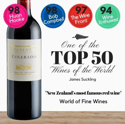 New Zealand's best red wine from New Zealand's most acclaimed and oldest winery' according to independent wine experts World of Fine Wine. This wine is served to Queens and Presidents and is from the famous Te Mata Estate. Buy this fine red wine online today from Singapore's favourite online wine store, Pop Up Wine. Free delivery available. Same-day delivery available everyday.