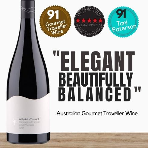 Buy this highly rated Syrah. Australian Gourmet Traveller Wine rates 91/100 and describes as Elegant. From famous Yabby Lake vineyard in Victoria. Buy this and other red wine online today from Singapore's online wine store of choice, Pop Up Wine. Free delivery available. Same-day wine delivery throughout Singapore available everyday.