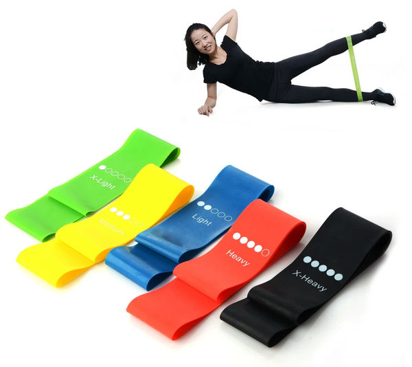 KING HOME FITNESS™ 5pc Resistance Bands Set