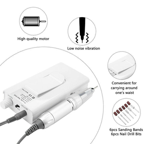 Portable Nail Drill Features