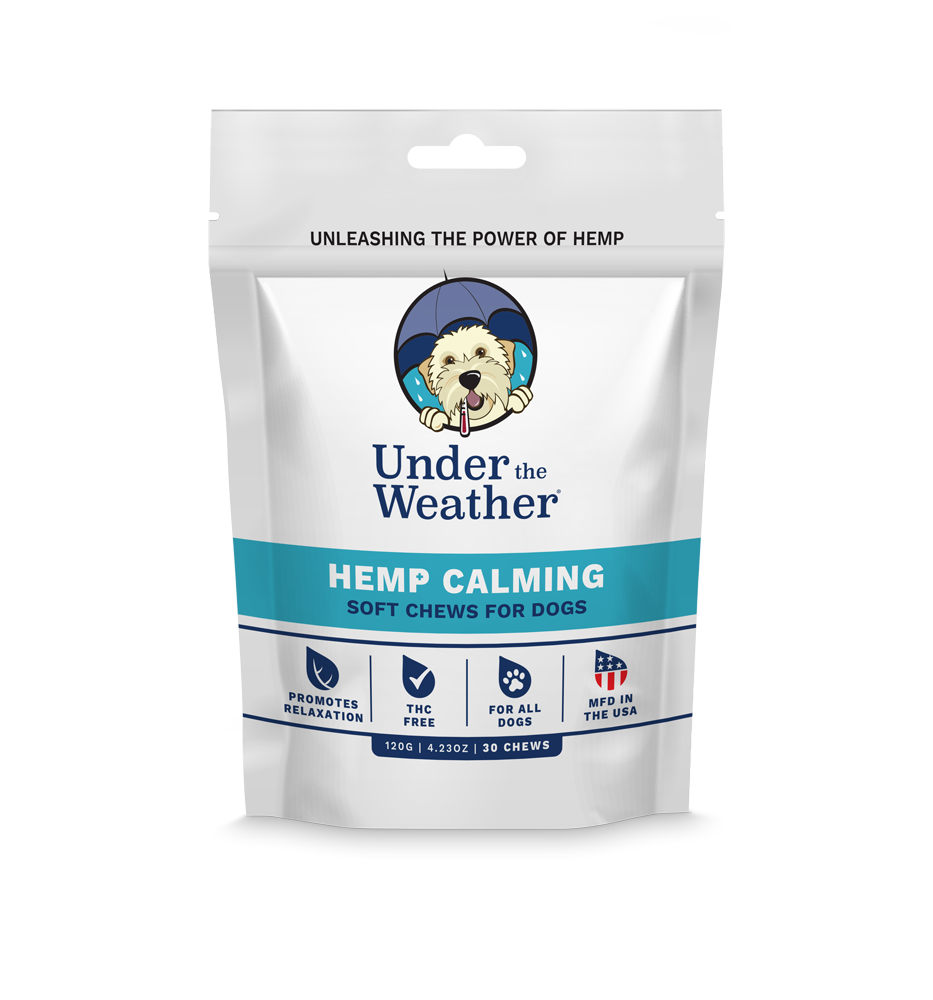 Hemp Calming Soft Chews For Dogs