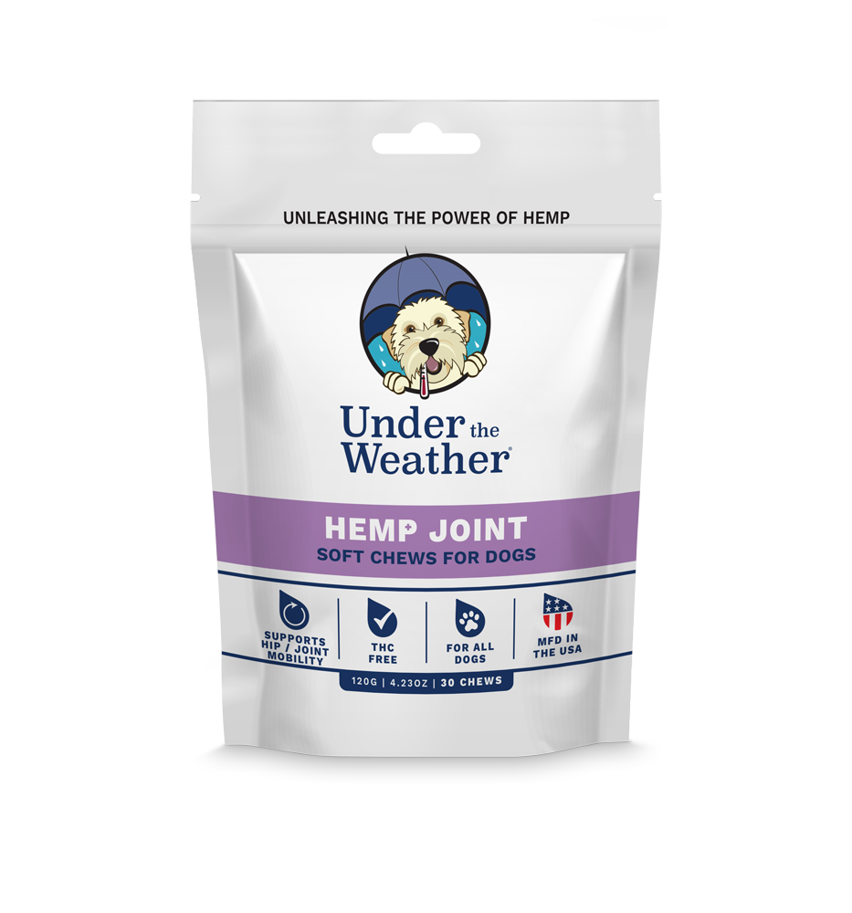 Hemp Hip & Joint Soft Chews For Dogs