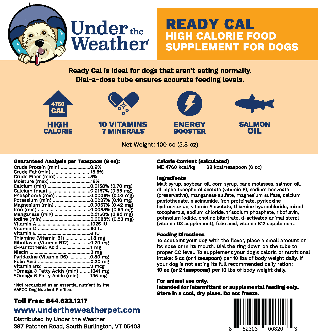 Ready Cal High Calorie Supplement + Chicken, Rice and Pumpkin Bland Diet Bundle