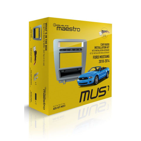Maestro KIT-MUS1 Dash Kit and T-Harness for 2010-2014 Ford Mustang - Shark Electronics