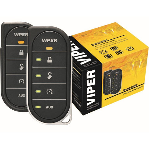 Viper 4806V LED 2-Way Remote Start System - Shark Electronics