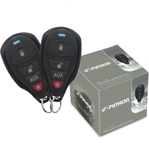 Python 5105P 1-Way Security and Remote Start System - Shark Electronics