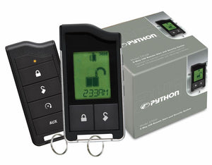 Python 5706P LCD 2-Way Security and Remote Start System - Shark Electronics