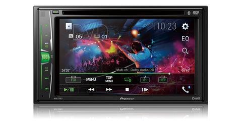 Pioneer AVH-220EX Multimedia DVD Receiver - Shark Electronics