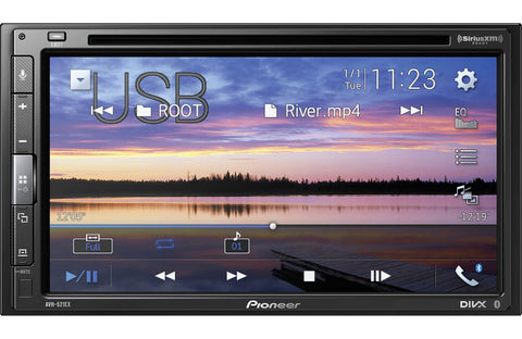 Pioneer AVH-521EX Multimedia DVD Receiver - Shark Electronics