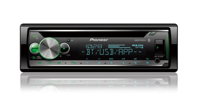 Pioneer DEH-S5200BT CD Receiver - Shark Electronics