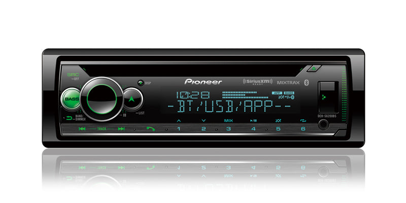 Pioneer DEH-S6200BS CD Receiver - Shark Electronics