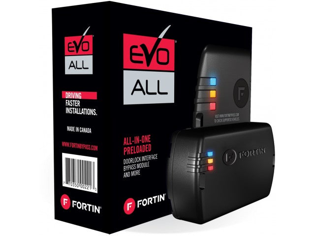 Fortin EVO-ALL Universal all-in-one data bypass and interface module - Shark Electronics