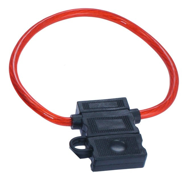 FH-10ATC Fuse Holder with Protective Cover - Shark Electronics