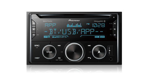 Pioneer FH-S720BS  Double DIN CD Receiver - Shark Electronics