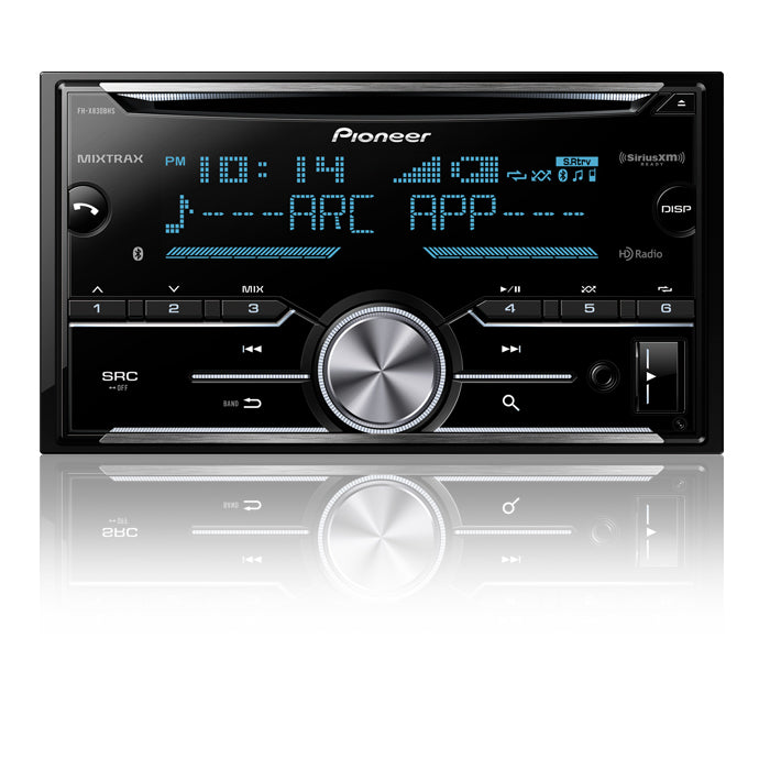 Pioneer FH-X830BHS 2-Din CD Receiver, Built-in Bluetooth®, HD Radio™ Tuner - Shark Electronics