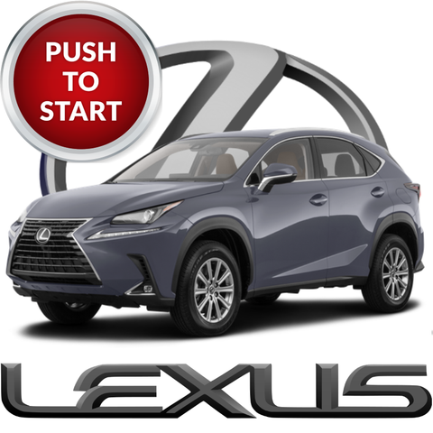 Plug & Play Remote Start for 2018 - 2021 Lexus NX 300