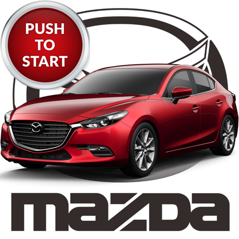 Plug & Play Remote Start for 2014 - 2018 Mazda 3