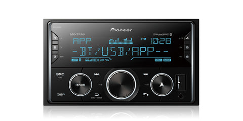 Pioneer MVH-S620BS Double DIN Digital Media Receiver - Shark Electronics