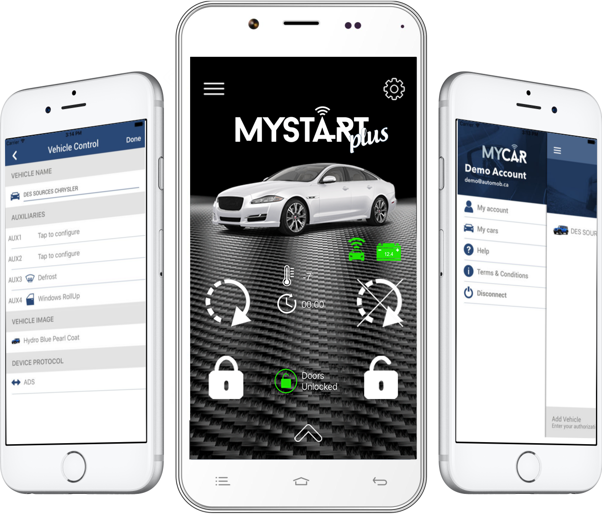 MyStart Plus Smartphone Control Interface - Shark Electronics