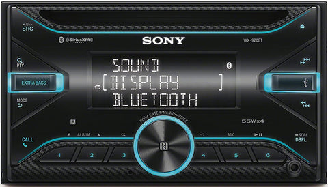 Sony WX-920BT CD Receiver with Bluetooth® - Shark Electronics