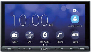 "Sony XAV-AX5000 6.95"" Media Receiver with BLUETOOTH® - Shark Electronics"