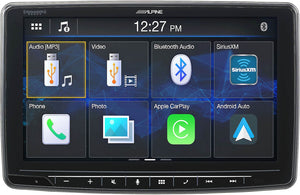 Alpine ILX-F259 9-Inch Halo9 Mech-less Audio/Video Receiver - Shark Electronics