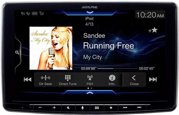 Alpine ILX-F309 Halo9 Mech-less 9-Inch Audio/Video Receiver - Shark Electronics