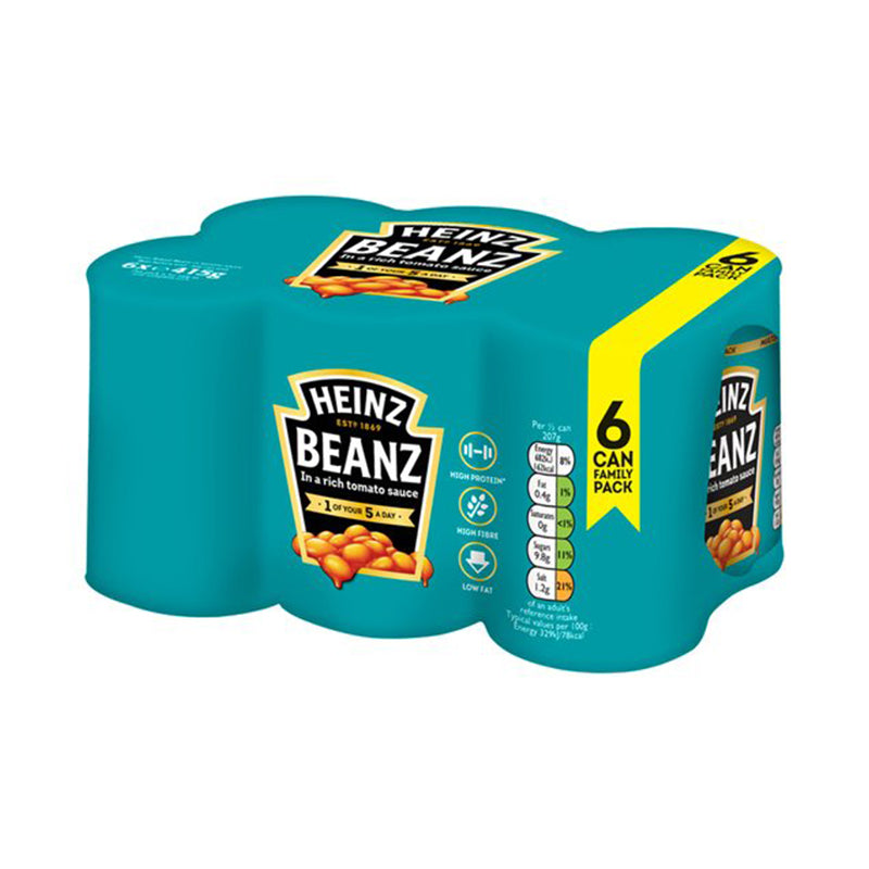 Load image into Gallery viewer, Heinz Baked Beans 6 x 415g